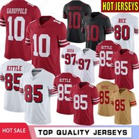 10 Jimmy Garoppolo Men Jerseys 85 George Kittle 80 Jerry Ric...