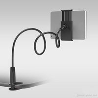 ipad Mobil Tablet PC için Evrensel Mobil Telefon Tutucu 80cm Uzun Kol Tembel Tutucu Yatak Masaüstü tutucu Uzatılabilir bağlar Standı
