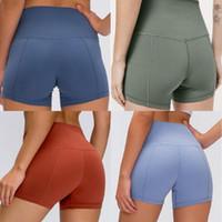 designer luxury lu  women lulu gym leggings shorts womens yoga pants yogaworld stacked leggings de marque sport femmes fitness
