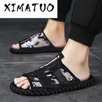 Men Indoor Floor Flat Shoes Men Summer Non- slip Flip Flops H...