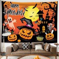 Halloween Stampato Tapestry Sfondo Panno Appeso Appettamento Panno Panno Della Letto Decorazione Decorazione Decorazione Decorazione Parete Decorazione da parete Regalo orribile
