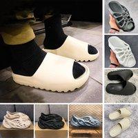 Stock X V2 Bone 450 Mens luxury designer Slippers Foam runner kanye west Desert Sand Resin Beach women men Slides slipper sandal sandals