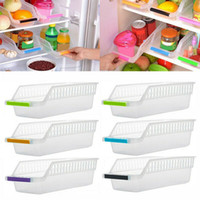 6 Pcs Fridge Organizer Drawer Storage Box Pull- out Case Box