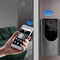 M2 Doorbells 720p / 1080p Batterie sans fil Powered Smart Soorbell Caméra Smart Video Poor Bell 1080p HD Interphone Video