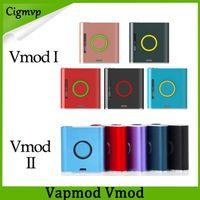 Оригинальные наборы сигарет VAPMOD E VMOD 1 2 Аккумуляторная батарея 900 мАч с аккумуляторами V-MOD 1.2 мл XTANK PLUS Картризальная картридж керамическая катушка