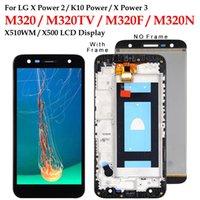 Cep Telefonu Dokunmatik Paneller 100% Testi LG X Güç M320 M320TV M320F M320N X510WM X500 LCD Ekran Digitizer X5