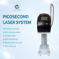 laser de remoção de tatuagem pico portátil do laser do interruptor q 1064nm sobrancelhas nd tatuagem do laser removedor de mancha de beleza dispositivo escuro removedor yag