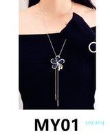 collana lusso- Y001-Y023 nuove donne di modo vintage con ciondolo regalo di natale