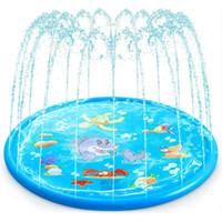 40inch jardin eau pulvérisque de pulvérisation d'eau enfants chiens extérieurs sprinkler éclaboussures jeux jouets jouets jardin jardin piscine piscine eau paître piscine