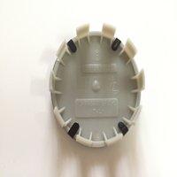 Araba-Styling 20 adet / grup 10 Bips Araba Tekerlek Hub Logo Kap Oto Tekerlek Merkezi Amblem Kapağı için 68mm Etiket ABS Rozeti 10 Pins