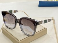 2020 Stile Quadrato occidentale nuovo superiore Struttura occhiali da sole firmati Uomini Donne Classico Angolo Nero Plank Telaio UV400 occhiali da sole con la scatola 0710