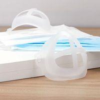 Alta Qualidade Novo Verão Descartável 3D Respirável Luz Branca PP Rosto Máscara Suporte Suporte Para Adulto Universal