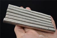 Дешевые оптовые 100 шт. / Лот Сильные редкие магниты Земля круглые NDFEB Неодимовый магнит N50 Diach122.2mm Super мощный оптом