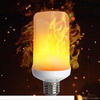 E27 2835SMD 8W 3 가지 모드 LED 화염 효과 화재 전구 점멸 에뮬레이션 장식 화염 램프 크리스마스 할로윈 장식