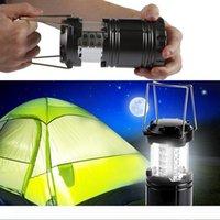 접을 수있는 랜턴 비상 야외 LED 캠핑 램프 휴대용 블랙 축소를 들어 하이킹 캠핑 할로윈 크리스마스 손전등