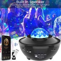 New Star Night Light Projecteur Projecteur Projecteur avec Ocean Wave Bluetooth Music Haut-parleur pour bébé Enfants Chambre / salles de jeux / Accueil