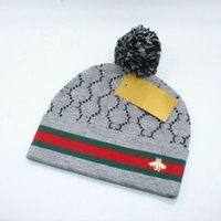Lovely Animal Warm Knitted Hat Classic Letter Cotton Beanie ...
