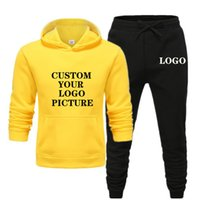 2020 New brand male tracksuit autumn winter jogging sports c...