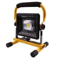Lanterns portables 50W LED Work Light Lumière rechargeable Éclairage d'urgence Éclairage extérieur Éclairage de camping