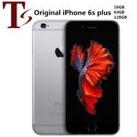 تم تجديده الأصلي ابل اي فون 6S زائد 5.5 بوصة مع معرف اللمس IOS A9 16/23/264 / 128GB ROM 12MP الهاتف الخليوي مقفلة