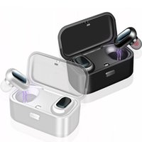 Sans fil Bluetooth 5.0 TWS TWS écouteurs sans fil écouteurs Twins écouteurs 5D Casque stéréo sport Casque IPX5 étanche