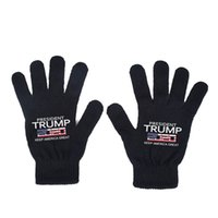 Trump Handschuhe halten Amerika große gedruckte Handschuhe warme gestrickte Handschuhe Trump liefert Zubehör Winter