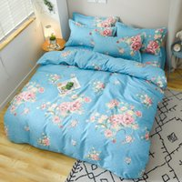 Manufacturers direct four - piece set of thickened woolen cotton four - piece bedding gifts wholesale students four - piece set