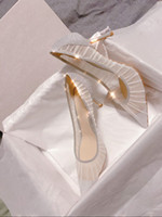 Metallic Silver Glitter Tissu Pompes avec des chaussures de mariage de mariée Overlay Tulle Ivoire Heels Designer Eu 3 à 40 Tradingbear