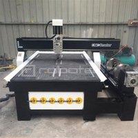 Heiße verkaufende CNC-Fräser 1325 4-Achs-CNC-Holzbearbeitungsmaschine Preis Aluminiummetall Fräsmaschine mit Rotary oDK2 #