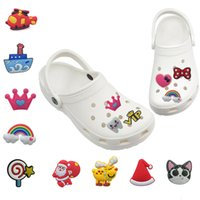 Wholesale PVC dolly Cute Animals clog charms Custom designer for hole shoe