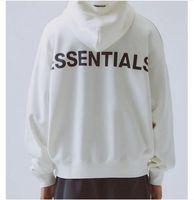 Evrensel Moda Embroidered3M eşofmanı Gevşek eğilim kadife kazak Tişörtü baskı ofset yansıtıcı