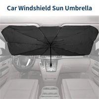 접이식 자동차 태양 우산 블록 열 UV 태양 그늘 우산을 사용 Dropshipping를에 앞 유리 보호 블록 열 UV 쉬운을위한