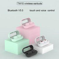 TW10 TWS мини беспроводные наушники Водонепроницаемые спортивные наушники шумоподавление Микронаушники высокое качество Bluetooth наушники