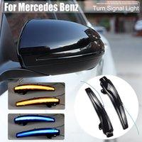 LED Dynamic Turn Signal Signal Signal Séquentiel Séquentiel pour Mercedes Benz C Classe W205 E W213 S W217 V W447 Miroir arrière côté arrière