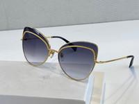 255 نظارات شمسية للنساء الأزياء الشعبية الماس حجر حماية من الأشعة فوق الإطار عدسة اللون مطلي عين القط تعال مع صندوق