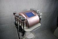 6 В 1 РЧ-машина для похудения с Lipo Laser + Двенадцать-полярная кавитация + вакуумный биполярный + шестигранный RF + трехполюсный вес уменьшить машину