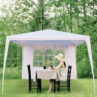 Blanche Mariage Shades En plein air Parti de Famille Camping Portable Tente Plage Divertissement Shade Pergola Voiture Sélo-pare-soleil Tentes