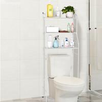 3-tier الحمام الحمام أبيض أزياء الرف التخزين التنظيم العملي للماء وتوفير الفضاء الرف
