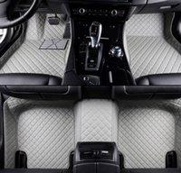 2017-2020 Tesla Model 3 Siyah deri 1 2 Sıra Tam Set Kat Mat Liner For
