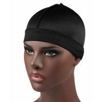 Silky Dome Cap larga banda tappi parrucca elastica fodera del casco del motociclista accessori per capelli Beanie Turbante Uomini