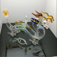 nuova Europa e Americaglass pipe bubbler fumatori acqua tubo di vetro bong Super grande vaso di vetro colorato drago