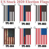 الأسهم الأمريكية 2020 العلم الانتخابات 30 * 45CM الانتخابات الرئاسية راية الحفاظ على أمريكا العظمى ترامب بايدن حملة العلم DHL شحن عيد الميلاد العلم
