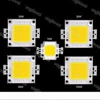 LED Perle Accessoires d'éclairage 10W 20W 30W 50W 100W haute puissance Cob 24 * 40MIL Highbay Lampe Flood Réverbère Leads EUB