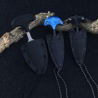 Yeni Çok Fonksiyonlu Mini Asma kolye Puer çay Bıçak Protable Açık Kamp Bıçak Kurtarma Survival Aracı Sıcak Satış