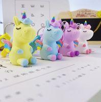 ПВХ Трехмерная мягкой резины брелок мечты Мультфильм животных Настройка Creative 3D куклы животных сумка Подвеска EEA1861