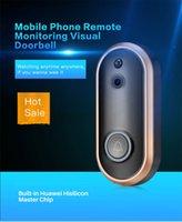 Nouveau 720P Smart Video Soorbell Wireless Home Security Caméra 2-Way Talk Talk Night Vision Caméra de détection PIR