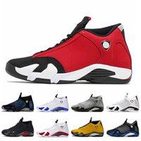 Nike Air Jordan 14 14s Jordan Retro 14 2020 새로운 도착 Jumpman 14 체육관 DOERNBECHER 하이퍼 로얄 흑연 사막 모래 스포츠 트레이너 스니커즈 망 (14) 14S 남성 농구 신발 빨간색