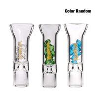 Glas Diamant Zigarettenhalter Glasfilter Tipps Gelenk Mundstück Spitzen 8mm Stumpfe Halter Rauchen Zubehör Großhandel Honeypuff