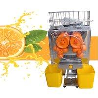 Горячий продавать Коммерческая 110V 220V Оранжевый соковыжималка Автоматический Лимонный сок помело грейпфрут машина Сжатие апельсиновый сок Maker