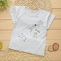new 2020 short sleeve summer wear single Children' s T- s...